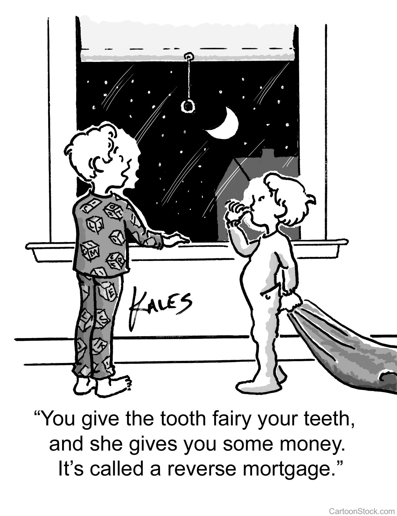 tooth fairy - reverse mortgage comic
